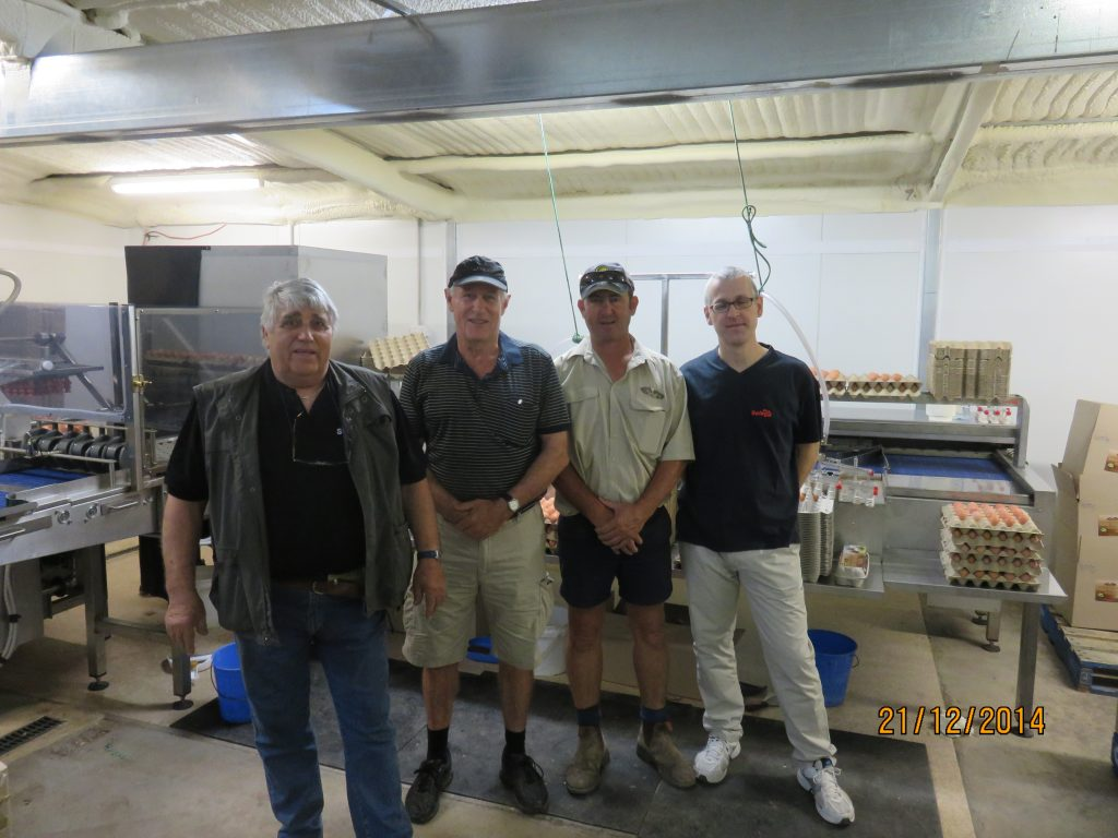 Installation Team at Rohde Farms