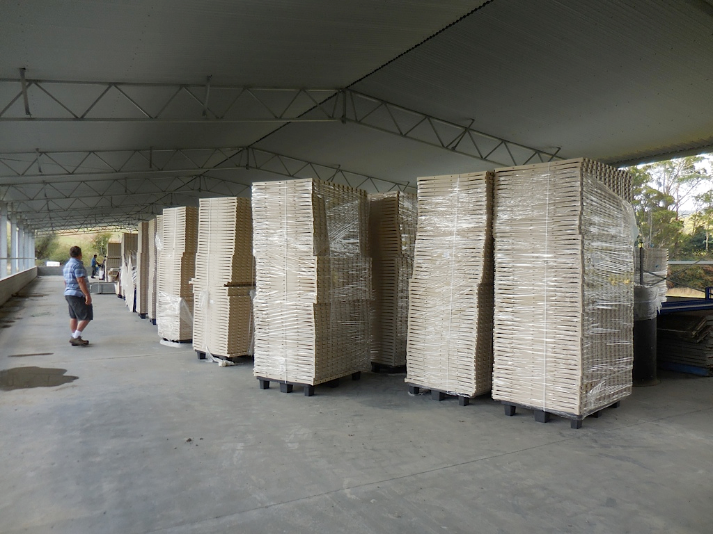 Plastic slats from Potters Poultry