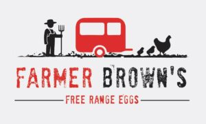 Farmer Brown Free Range Eggs Logo